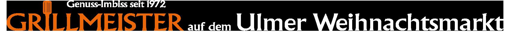 Grillmeister Imbiss auf dem Ulmer Weihnachtsmarkt Logo