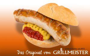 Grillmeister Weisse Bauernbratwurst vom Grill